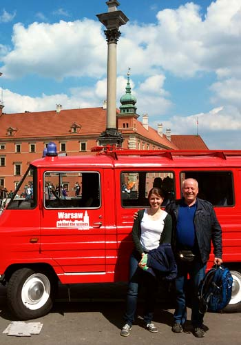 Best of Warsaw private city tour